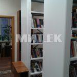 Библиотечные стеллажи с лицевой панелью