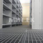 Библиотечные стеллажи без лицевой панели