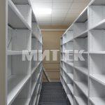 Библиотечные стеллажи крепление полки