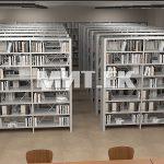Библиотечные стеллажи эскиз 2