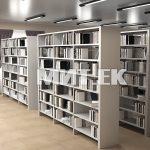 Библиотечные стеллажи эскиз 1