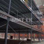 Четырехэтажная мезонинная платформа