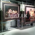 Перекатные сетки в галерее